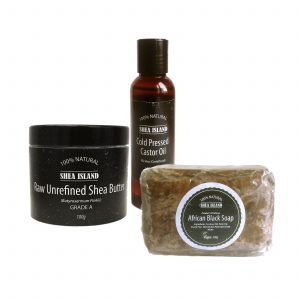 bundle 2 skin & hair care set